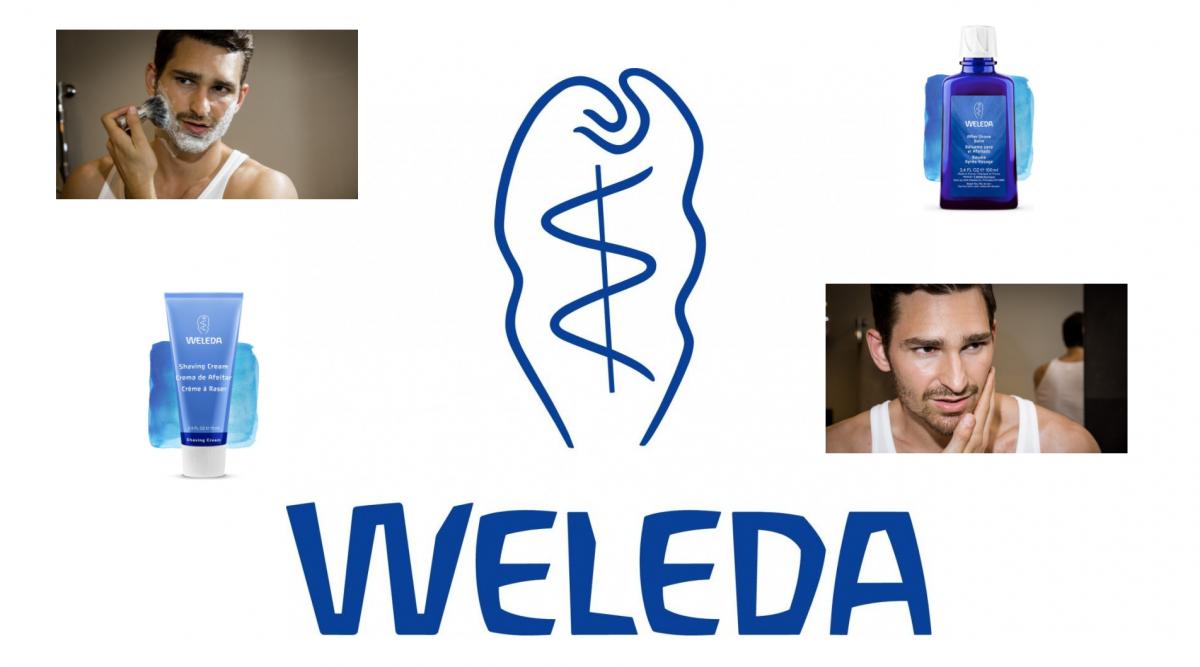 Cuidados masculinos con Weleda